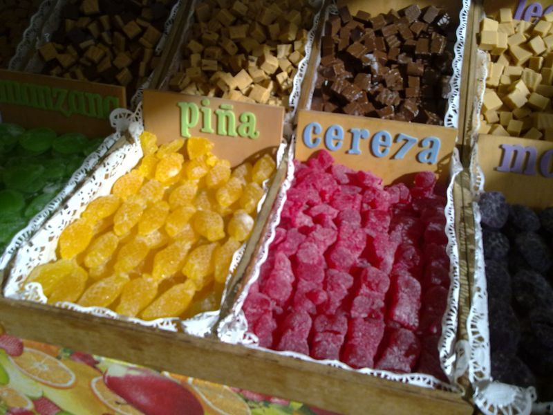 Fruit sweets