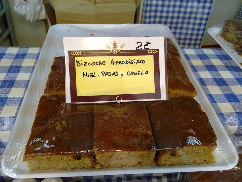 Aphrodisiac cake