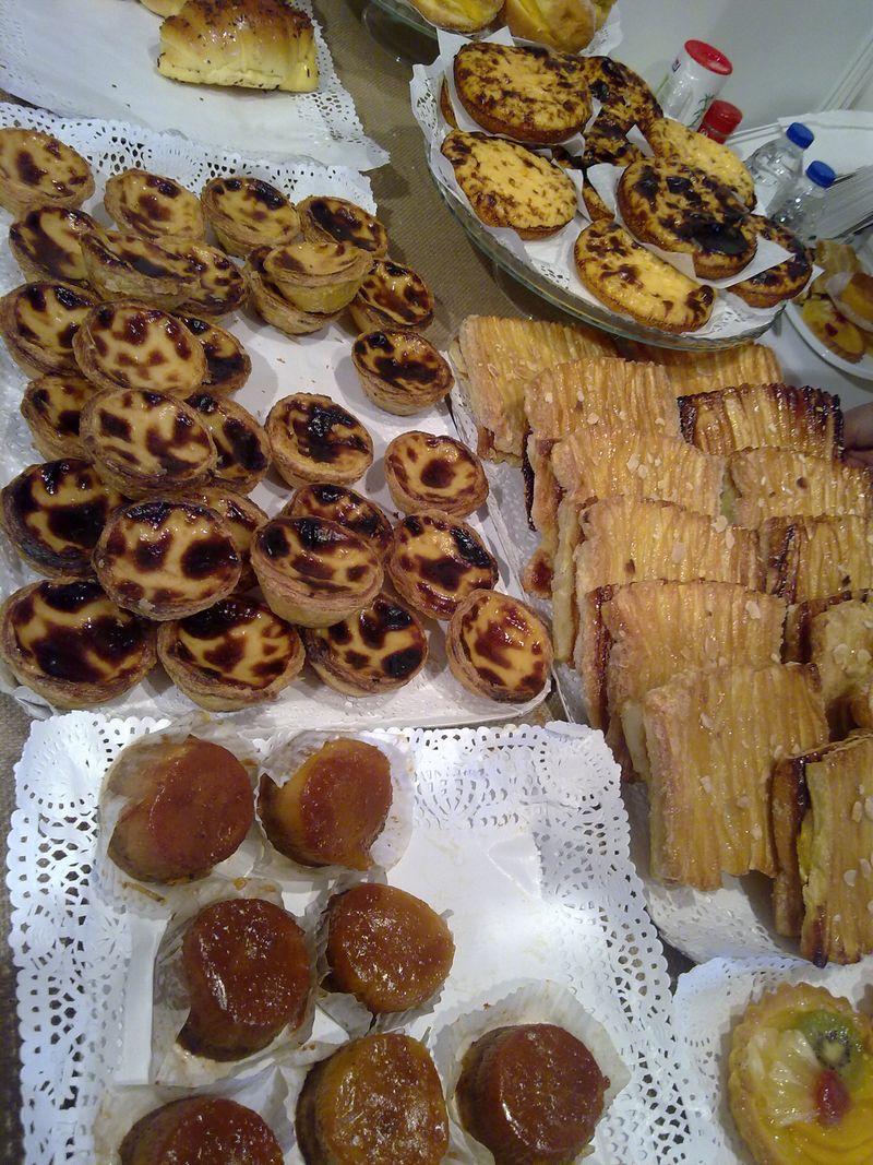 Port pastries